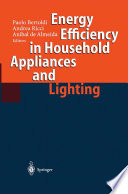 Energy Efficiency in Househould Appliances and Lighting