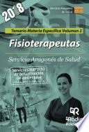 Fisioterapeutas Servicio Aragon S De Salud Temario Materia Espec Fica Volumen 2