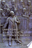 Lawyers And Legal Culture In British North America