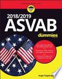 2018   2019 ASVAB For Dummies