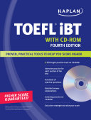 Kaplan TOEFL iBT with CD ROM