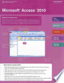 Microsoft Access 2010 CourseNotes