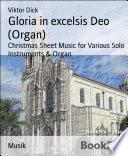 Gloria in excelsis Deo  Organ