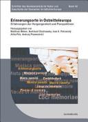Erinnerungsorte in Ostmitteleuropa