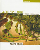 Culture  People  Nature