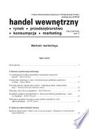 Handel Wewn  trzny  tom 3