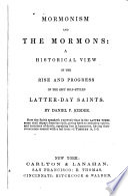 Mormonism and the Mormons