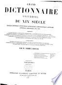Grand Dictionnaire Universel Du Xixe Si Cle