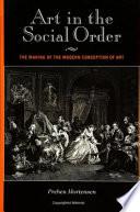 Art in the Social Order