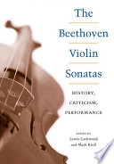 The Beethoven Violin Sonatas