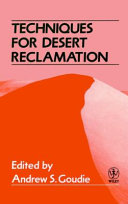 Techniques for desert reclamation