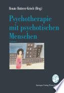 Psychotherapie mit psychotischen Menschen