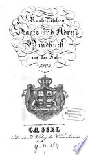 Kurhessisches Staats- und Addreß-Handbuch