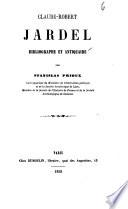 Claude-Robert Jardel, bibliographe et antiquaire