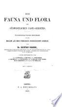 """""""Die"""" Fauna und Flora des südwestlichen Caspi-Gebietes"""