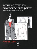 Pattern Cutting For Women S Tailored Jackets