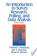 An Introduction to Survey Research  Polling  and Data Analysis