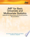 JMP for Basic Univariate and Multivariate Statistics