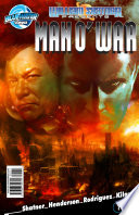 William Shatner Presents: Man O' War #1 And Its Martian Colony Only Diplomat Benton Hawkes