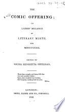 The Comic Offering Or Ladies Melange Of Literary Mirth