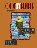 Color by Number for Adults  Magnificent Mosaics