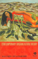 Contemporary Organization Theory