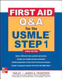 First Aid Q A for the USMLE Step 1  Third Edition