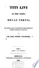 Rerum romanorum ab urbe condita :