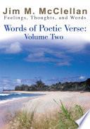 Words of Poetic Verse