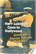 Herr Lubitsch Goes to Hollywood