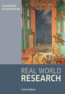 Real world research : a resource for users of social research methods in applied settings
