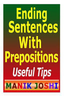 Ending Sentences with Prepositions: Useful Tips
