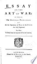 Essay on the Art of War