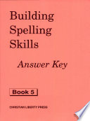 Building Spelling Skills 5 Answer Key