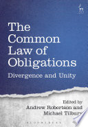 The Common Law of Obligations