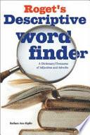 Roget s Descriptive Word Finder