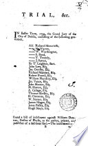 A Full Report of the Trial at Bar  in the Court of King s Bench  of William Drennan