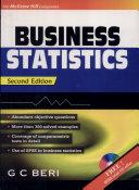 Business Statistics, 2E