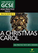 Christmas Carol AQA Practice Tests  York Notes for GCSE  9 1