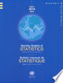 Monthly Bulletin of Statistics  May 2010