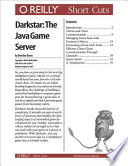 Darkstar The Java Game Server