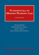 Fundamentals of Modern Property Law