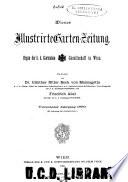 Wiener illustrirte Garten-Zeitung