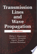 Transmission Lines and Wave Propagation  Fourth Edition