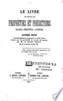 Le livre de toutes les proph  ties et pr  dictions