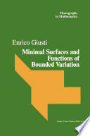 Minimal Surfaces and Functions of Bounded Variation