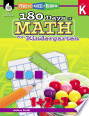 180 Days of Math for Kindergarten  Practice  Assess  Diagnose