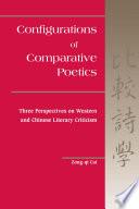 Configurations of Comparative Poetics