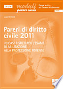 Pareri di diritto civile 2011