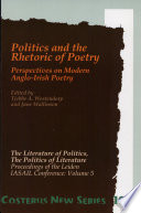 Politics and the Rhetoric of Poetry
